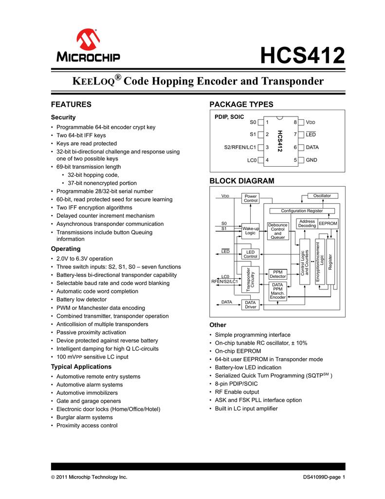 Microchip Hcs412 11 Procedure To Use Mplab Sim
