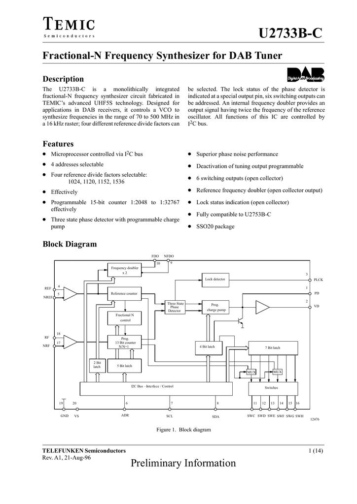 TEMIC U2733B-C