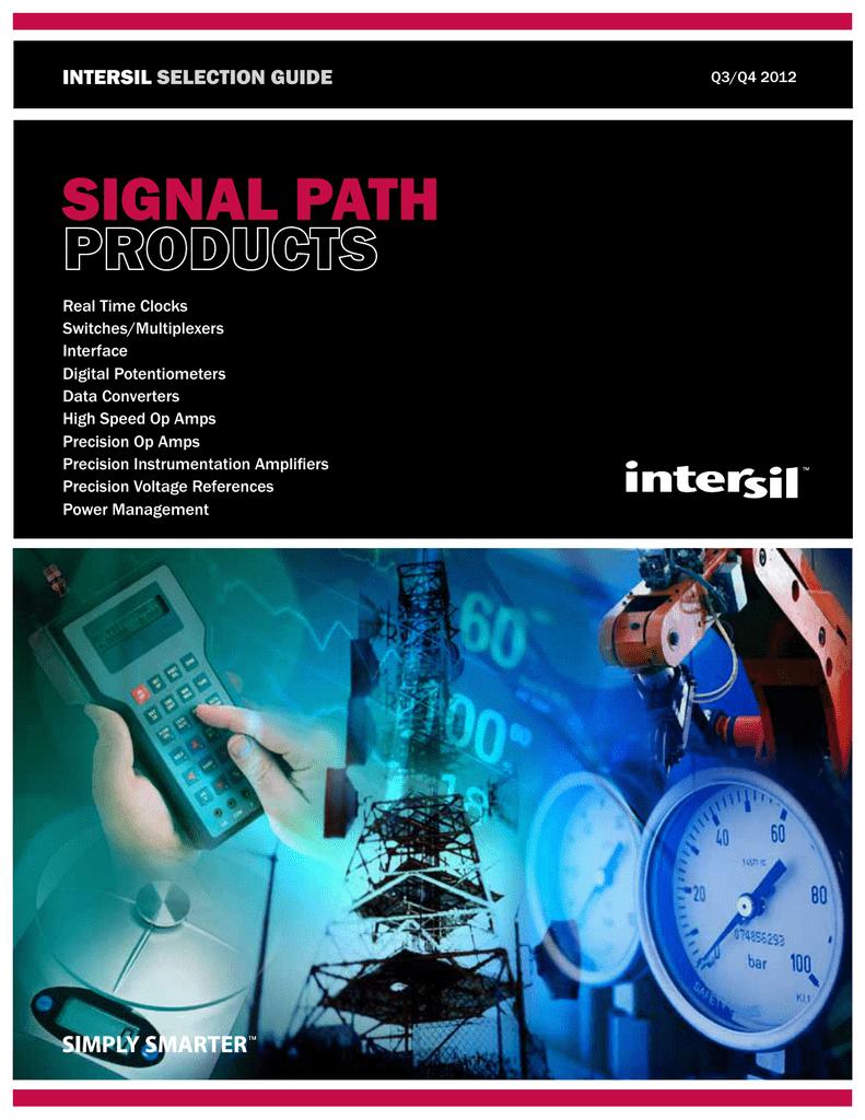Intersil Isl97519a 256 Tap Digitally Potentiometers