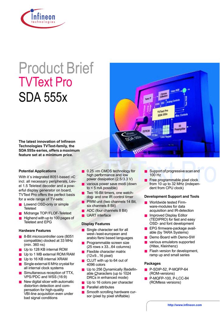 INFINEON SDA5550