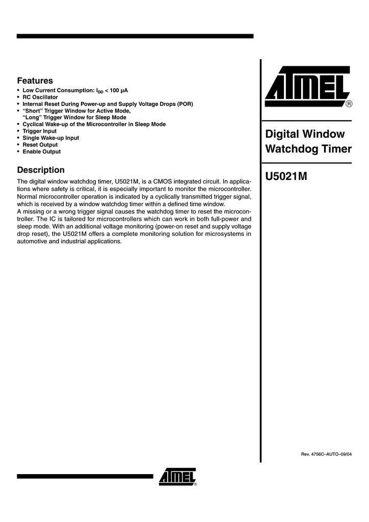 ATMEL U5021M-NFP
