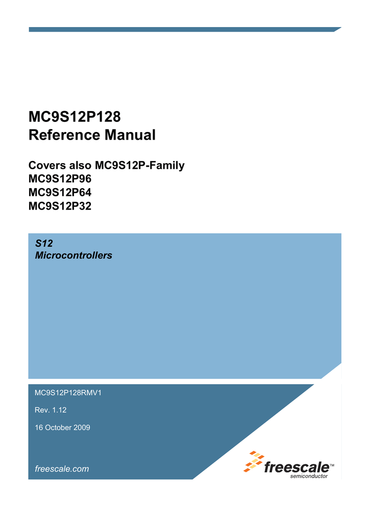 FREESCALE MC9S12P128J0MFT