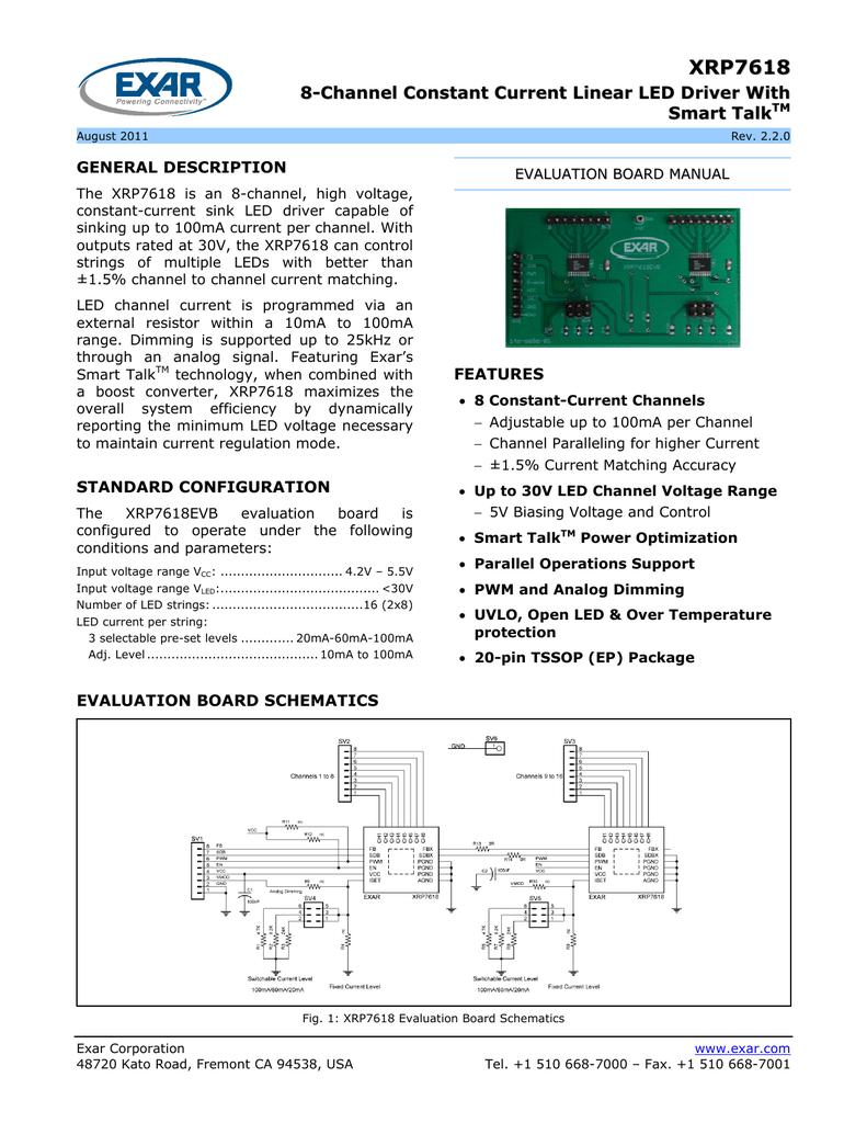 EXAR XRP7618