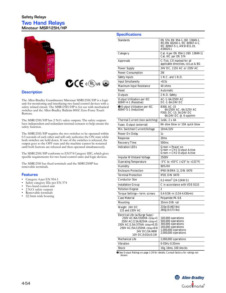 Allen Bradley Safety Wiring Diagrams