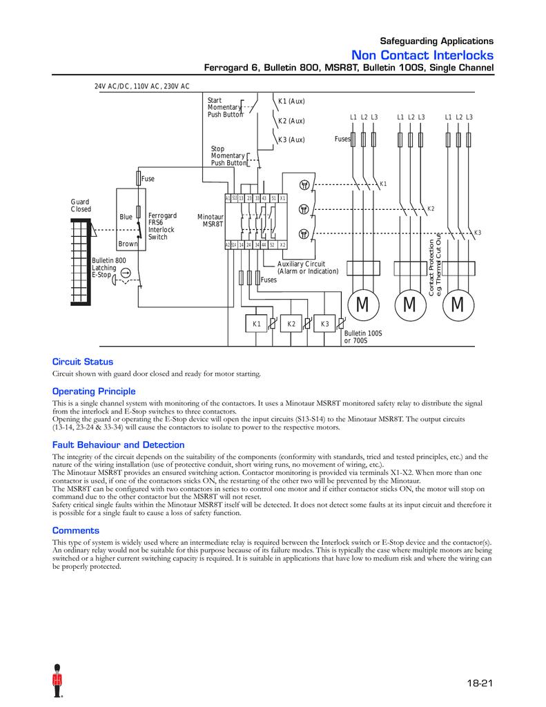 Allen Bradley Msr8t Estop Relay Wiring Diagram