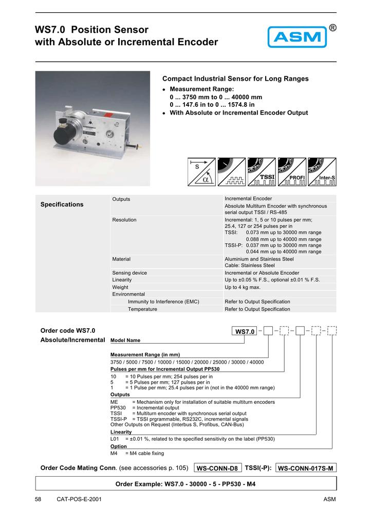 ASM-SENSOR WS7 0-10000-1