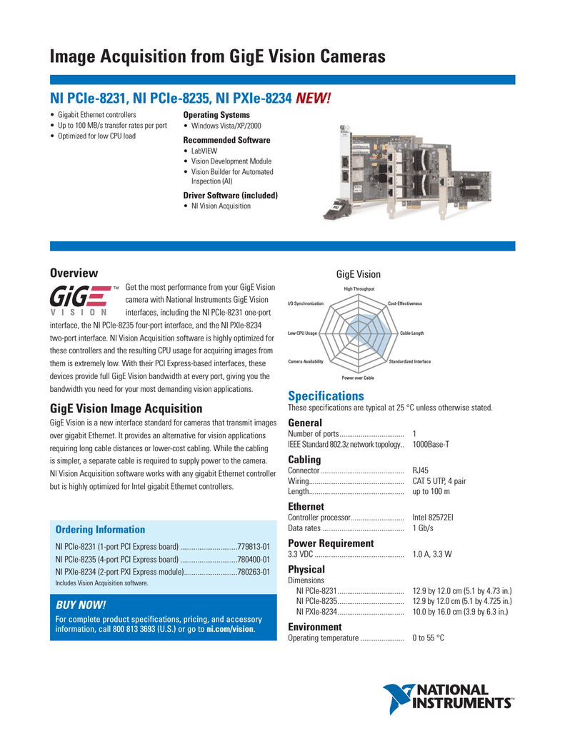 NI PCIE-8231
