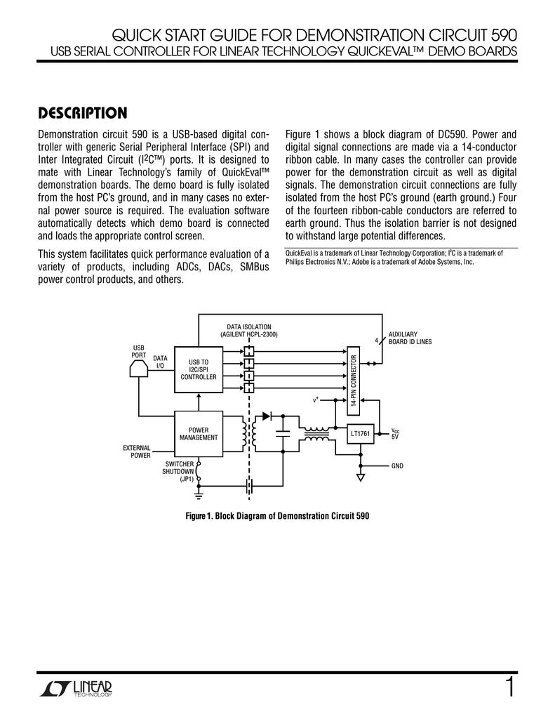 Linear Dc590a 1 Opto Isolator Circuits