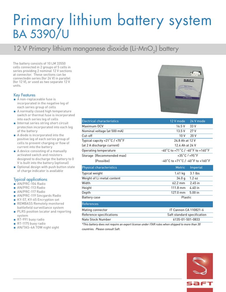 SAFT BA5390