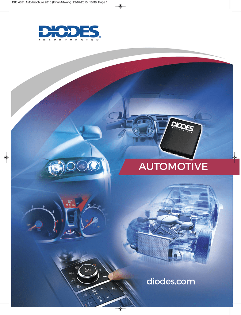 AUTOMOTIVE - Diodes Incorporated
