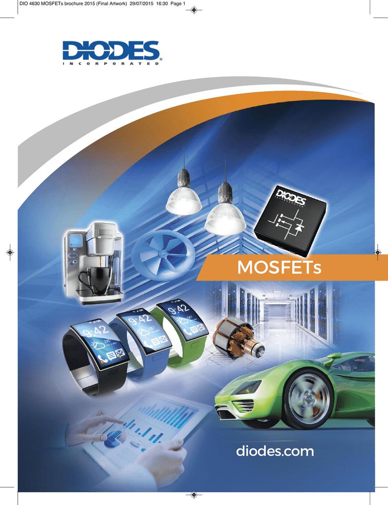 41V-60V Pack of 100 DMP6185SE-13 MOSFET MOSFET BVDSS