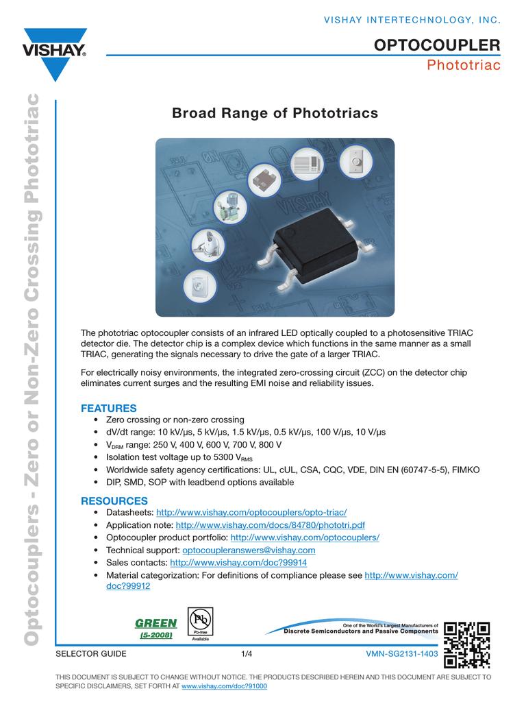 Selector Guide Opto Triac Circuit 001250667 1 332b67cc230e89070f677a46e8a86e2a