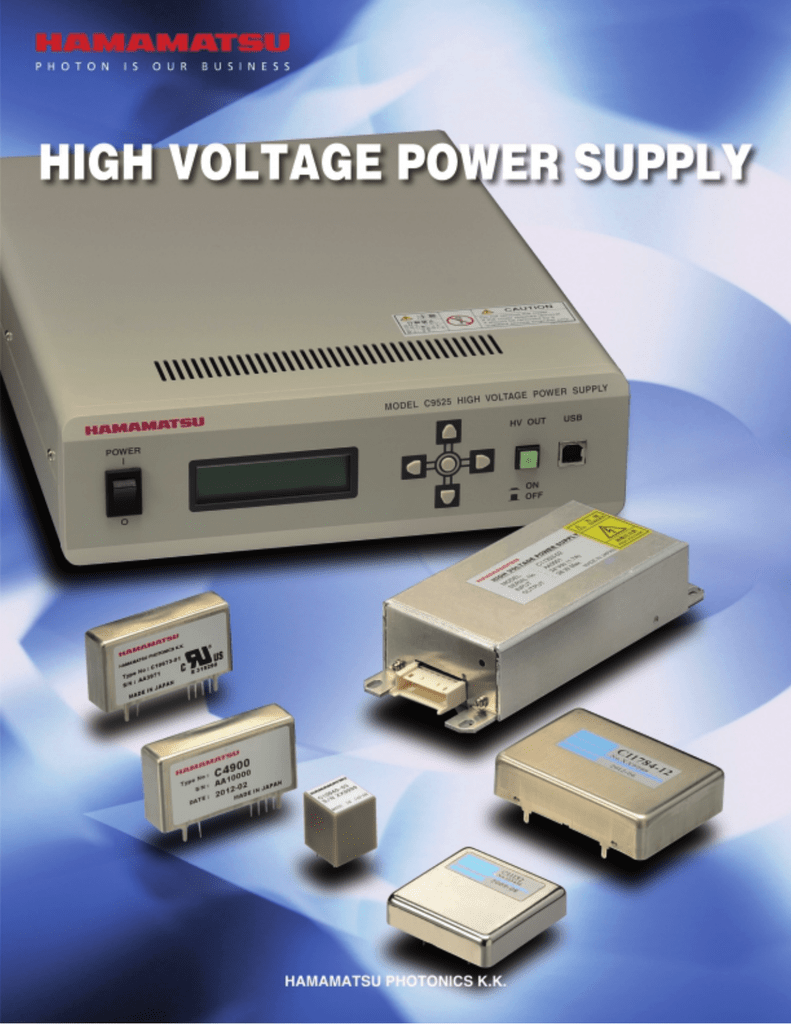 High Voltage Power Supplies Supply Adapter 2000v Low Current