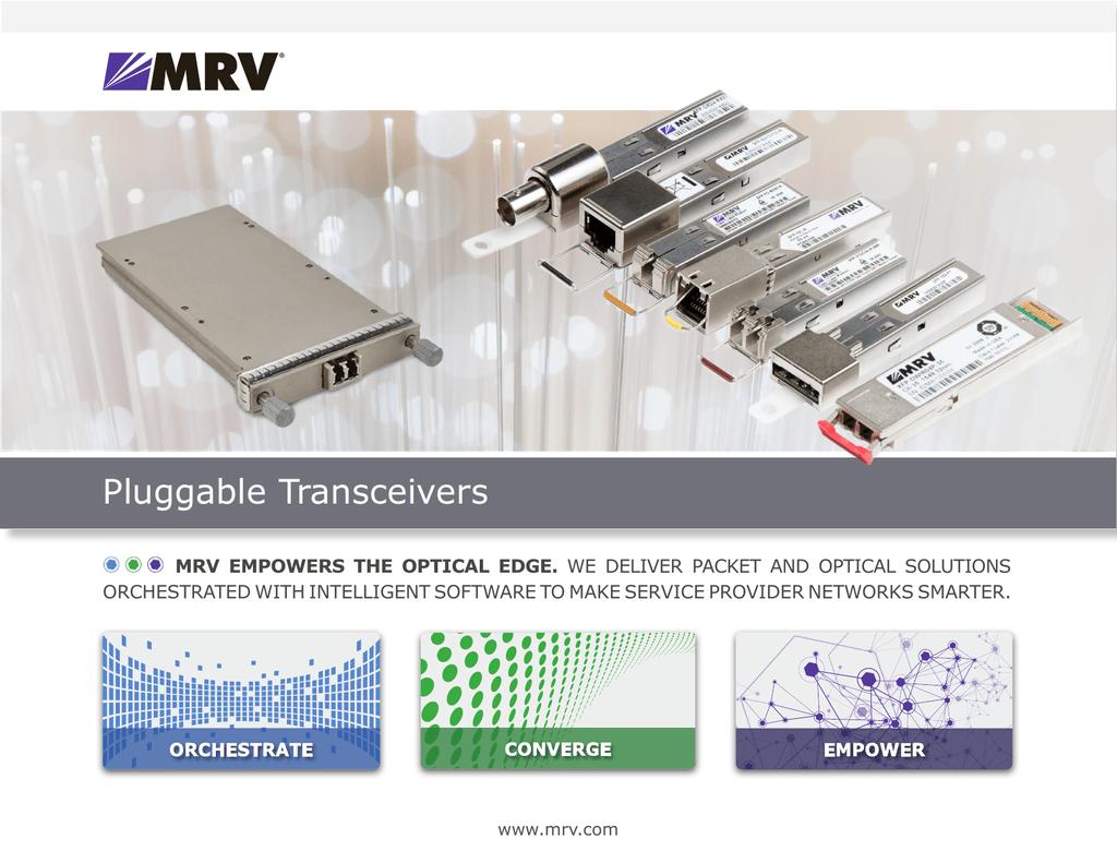 MRV Compatible SFP-GDCWEZX-43 CWDM SFP Transceiver