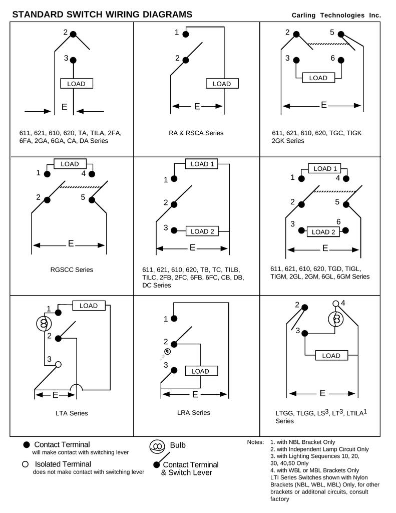 Switch Wiring Diagrams Dc Series Circuit