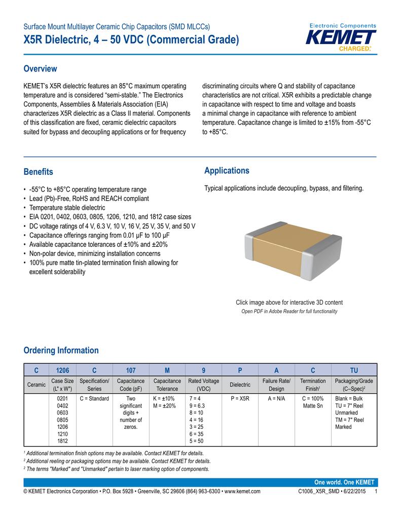 10 X SMD Multilayer Ceramic Capacitor ± 0.25 1608 Metric 6.8 pF 0603 200 V