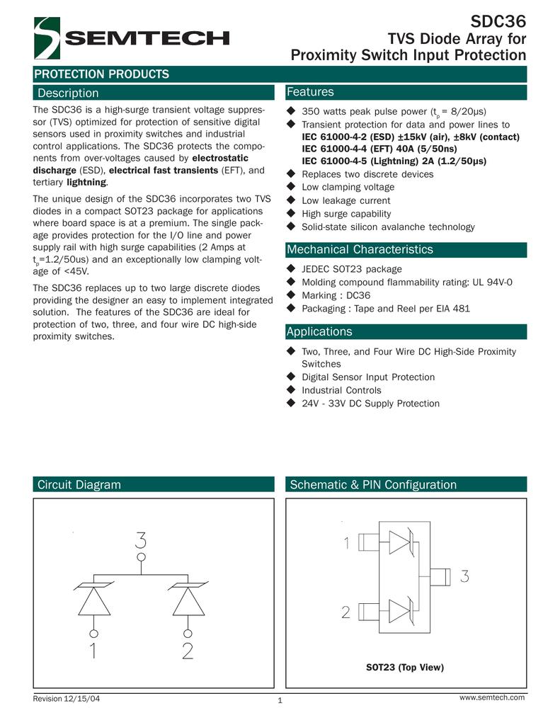 Sdc36 Switch Wiring Diagram View Proximity