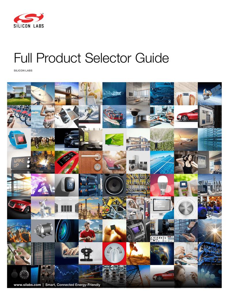 The Full Product Selector Guide Si1102 Proximity Sensor Ic Block Diagram