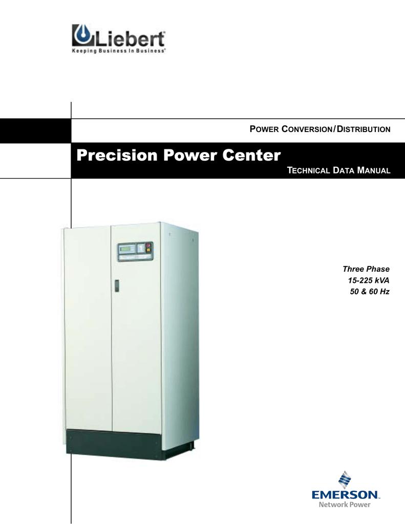 Liebert Precision Power Center 225 Kva Transformer Wiring Diagram