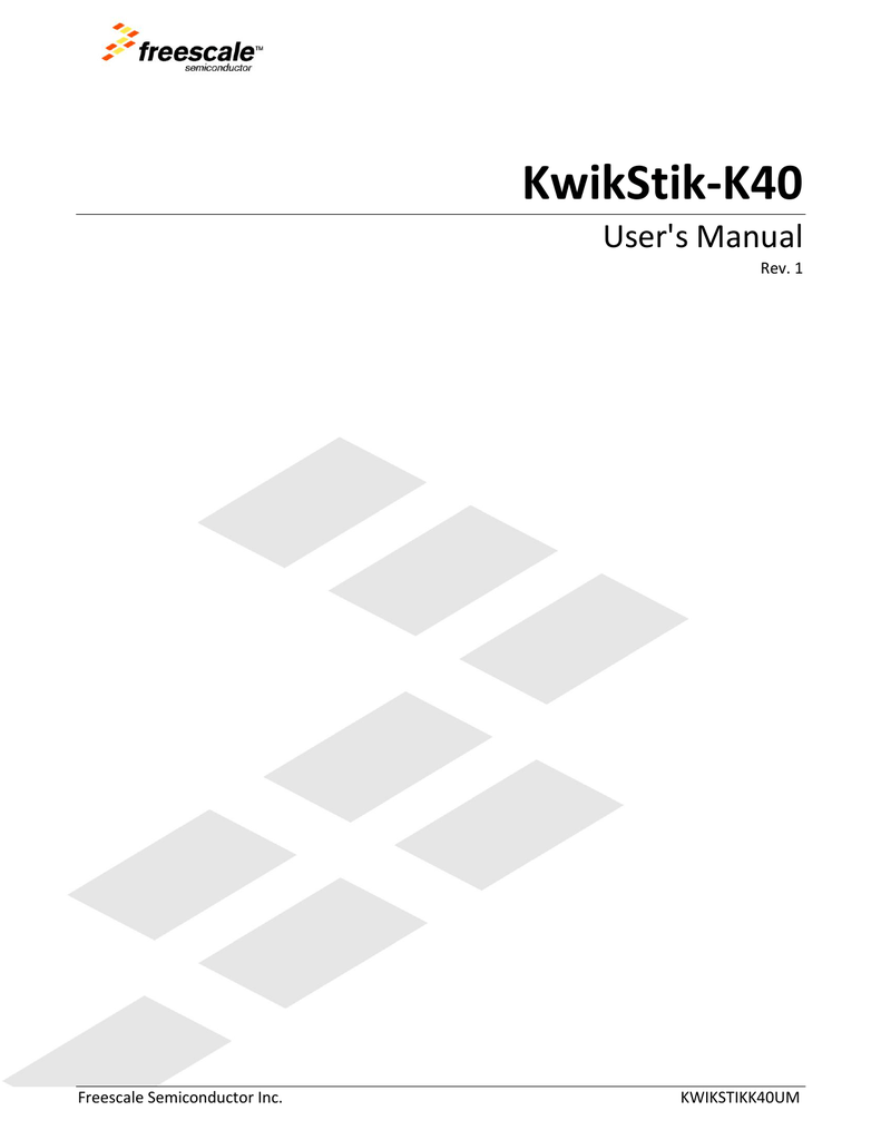 Kwikstik K40 Freescale Semiconductor Power Supply Wiring Diagram