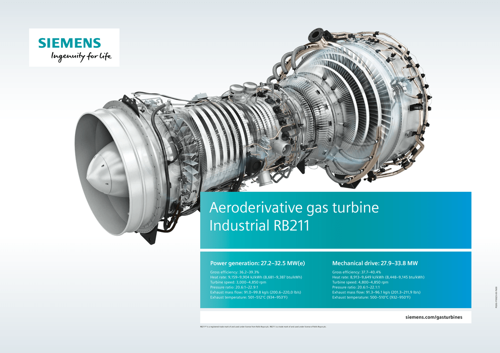 Industrial RB211 poster