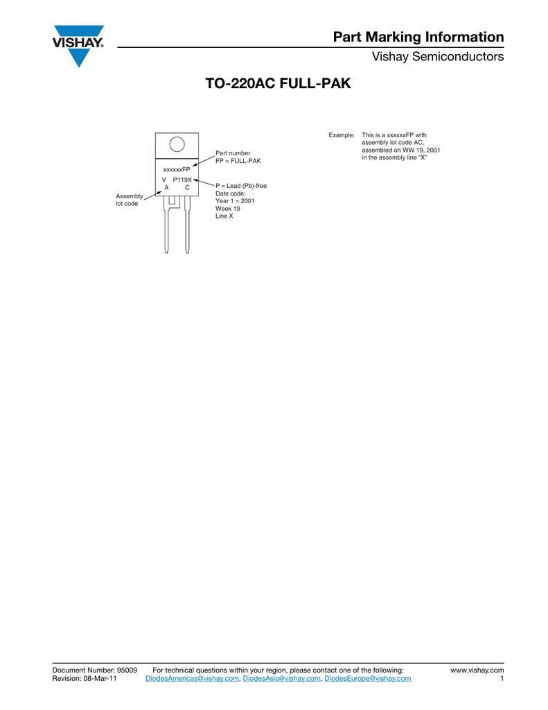 Part Marking Information