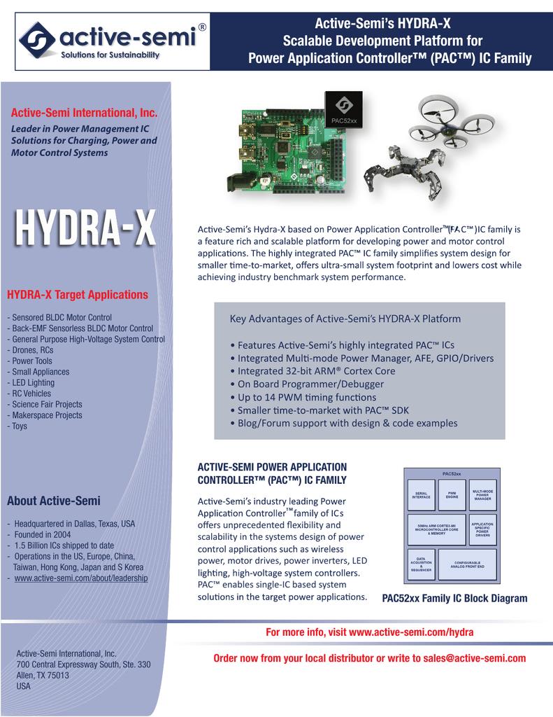 HYDRA-X Brochure