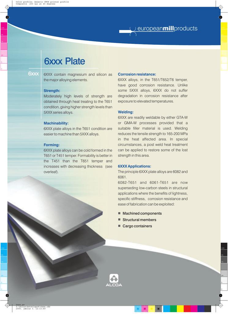6XXX Plate - English