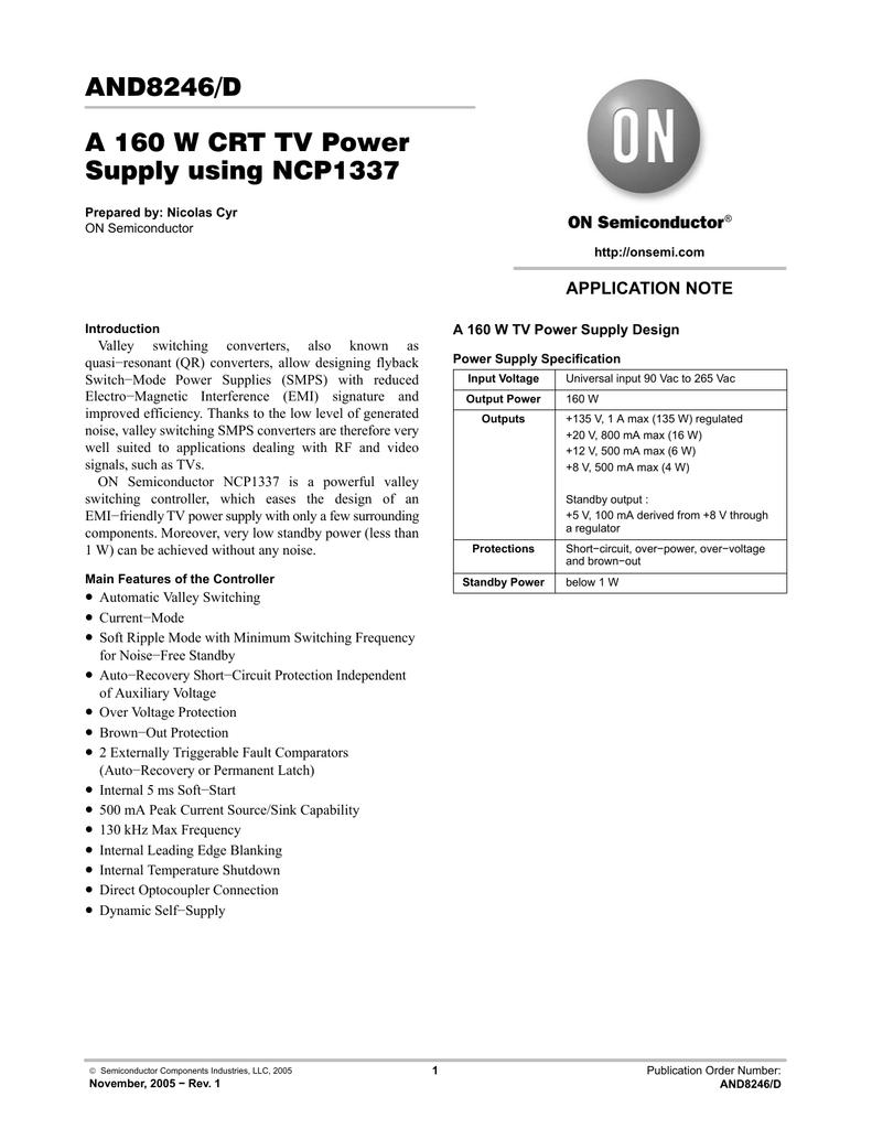 Ncp1337 Pdf