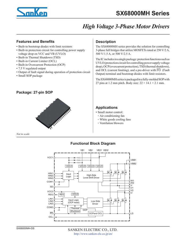 Sx68000mh Datasheet Overcurrent Protection Circuit