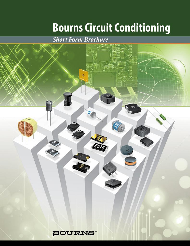 Bourns Circuit Conditioning Short Form Brochure Fast Half Wave Rectifier Automotivecircuit