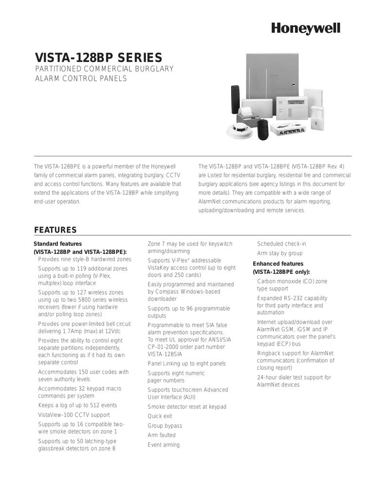 VISTA-128BP BPE Data Sheet