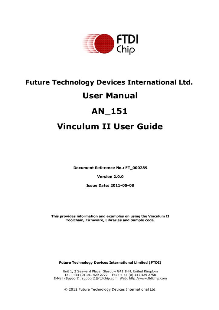 Vinculum-II User Guide