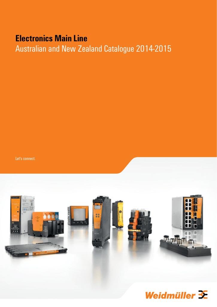 WAUS Electronics Catalogue 2014-2015