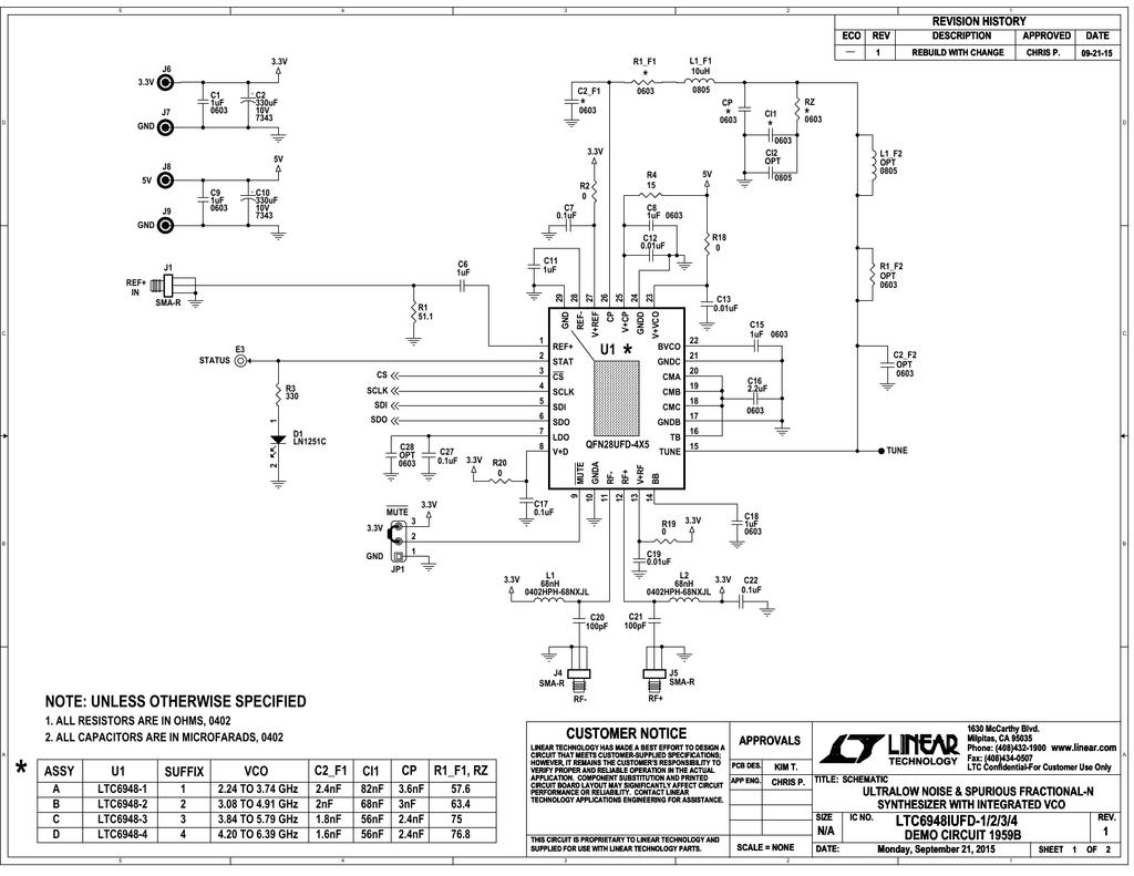 DC1959B - Schematic