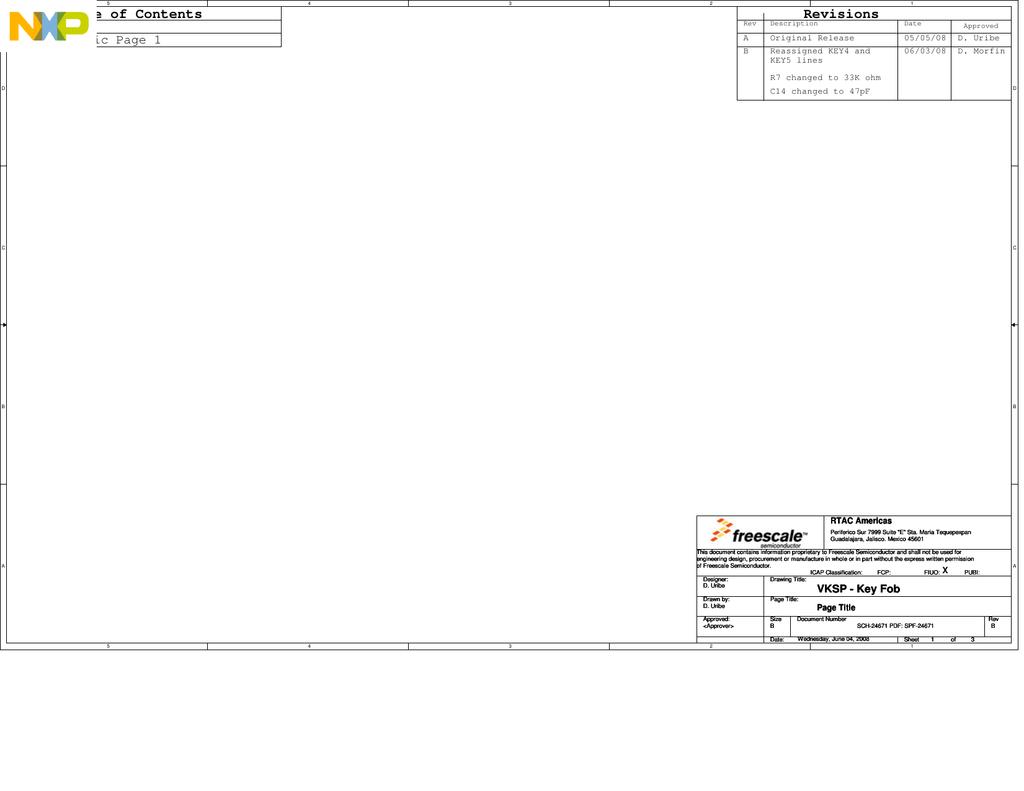Vksp Keyfob Schematic Key Fob