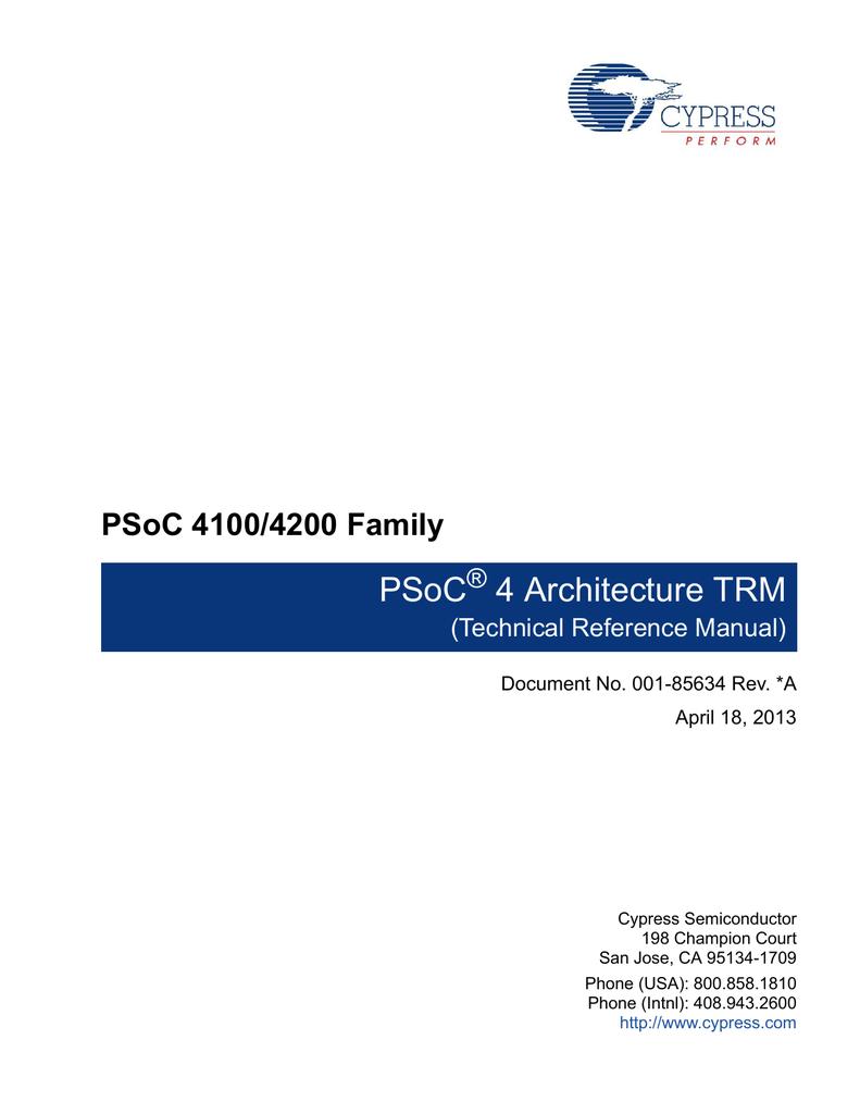 Download PSOC 4 arch trm.pdf